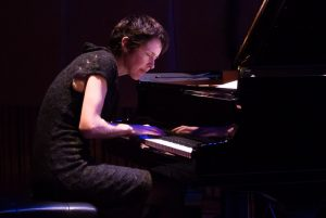 andrea keller at piano
