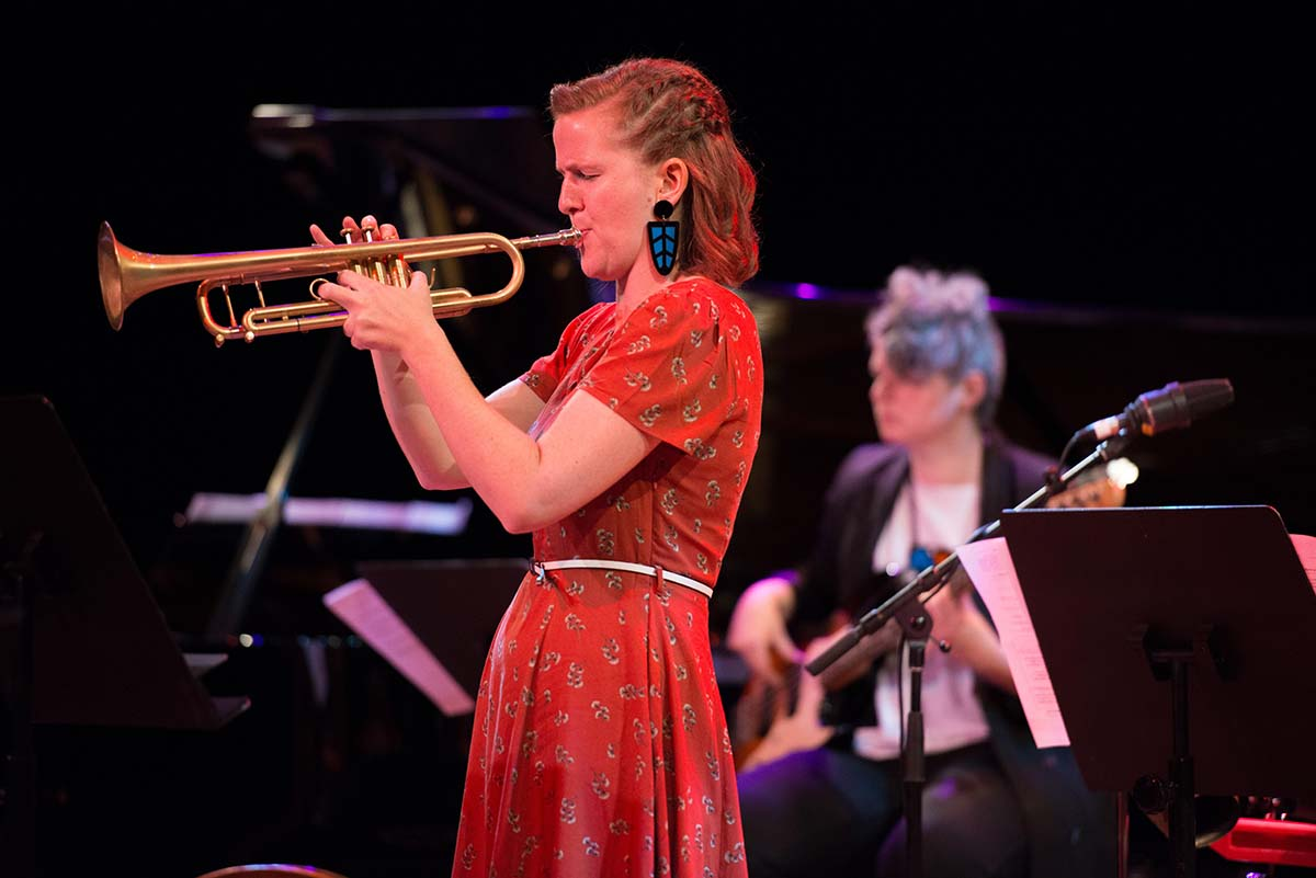 Ellen Kirkwood on [A]part, Sirens Big Band, Jann Rutherford Memorial Award and more